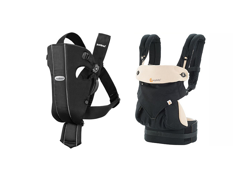 baby products, baby carrier, Ergobaby Four Position 360 Carrier, Baby BjornCarrier Original